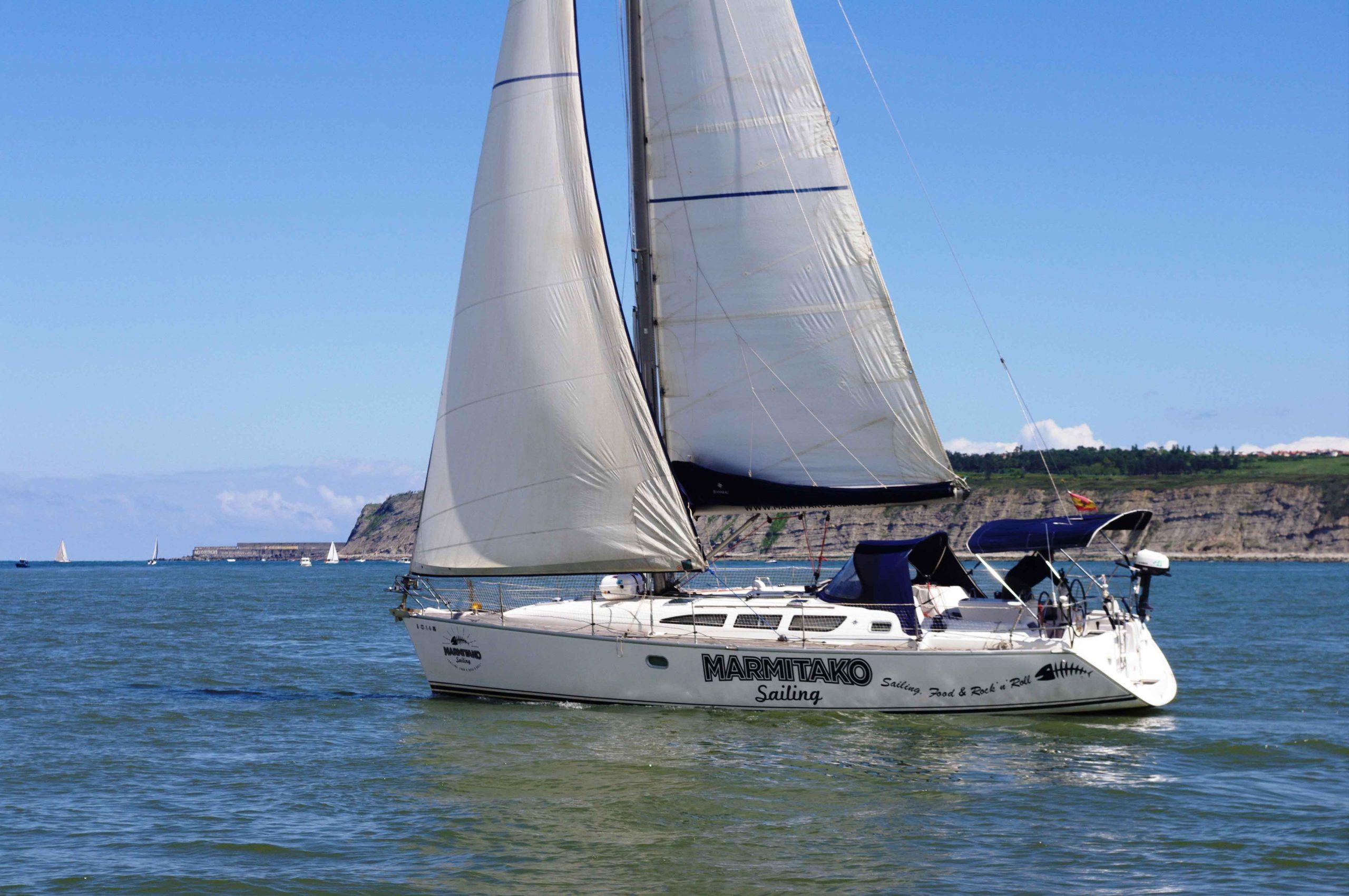 alquilar un velero en Bizkaia