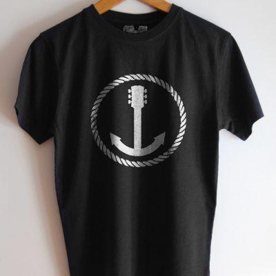 camiseta dibujo ancla
