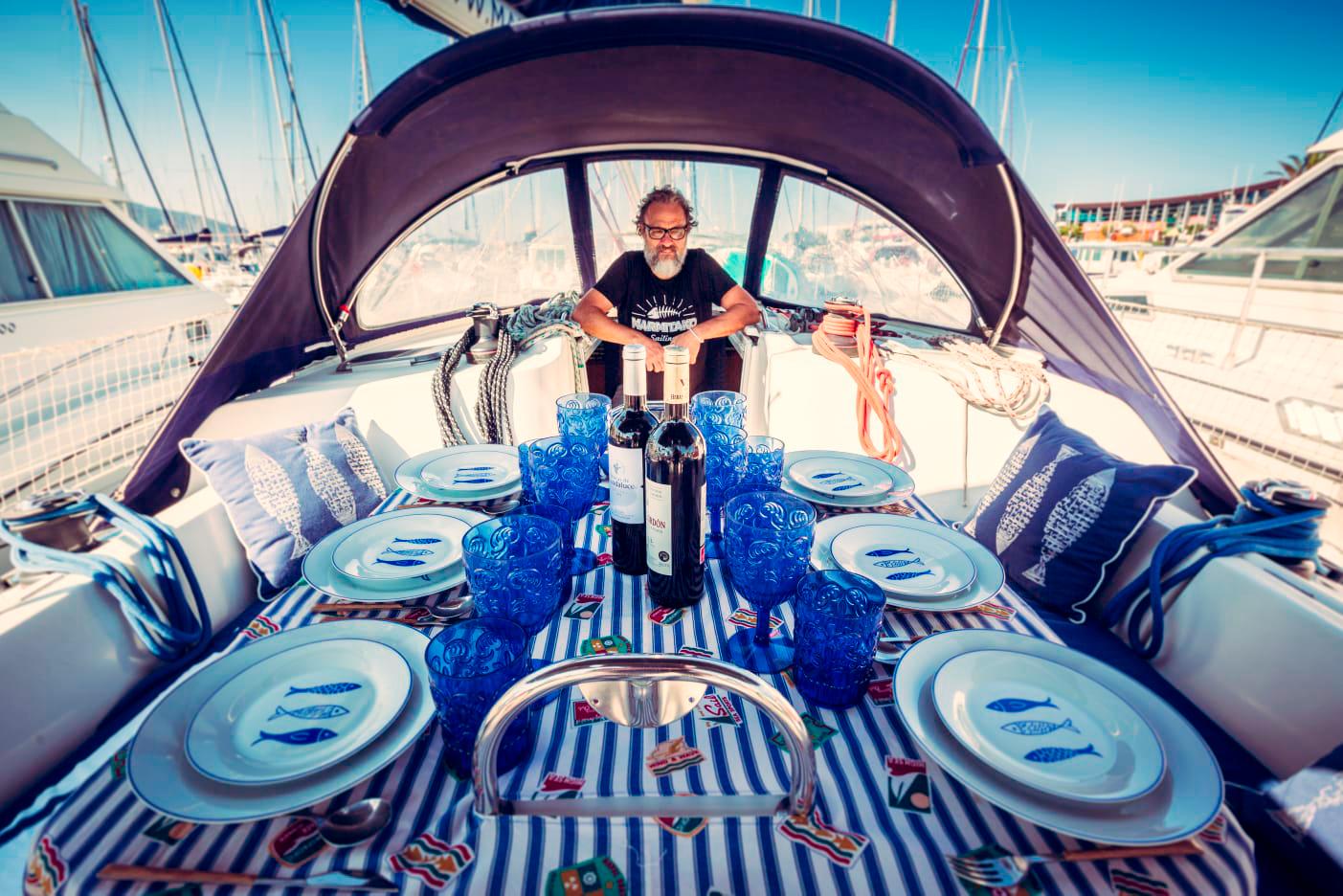 Marmitako Sailing - Edorta, el capitán