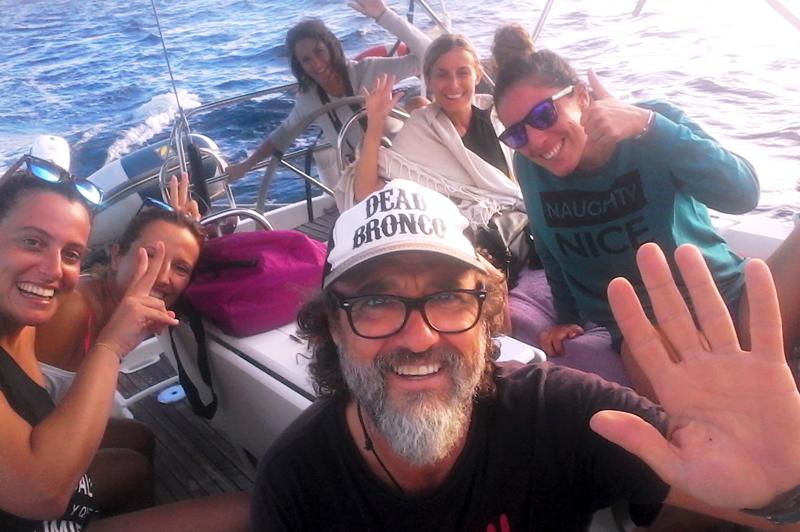 Marmitako Sailing, Camino de Santiago a vela