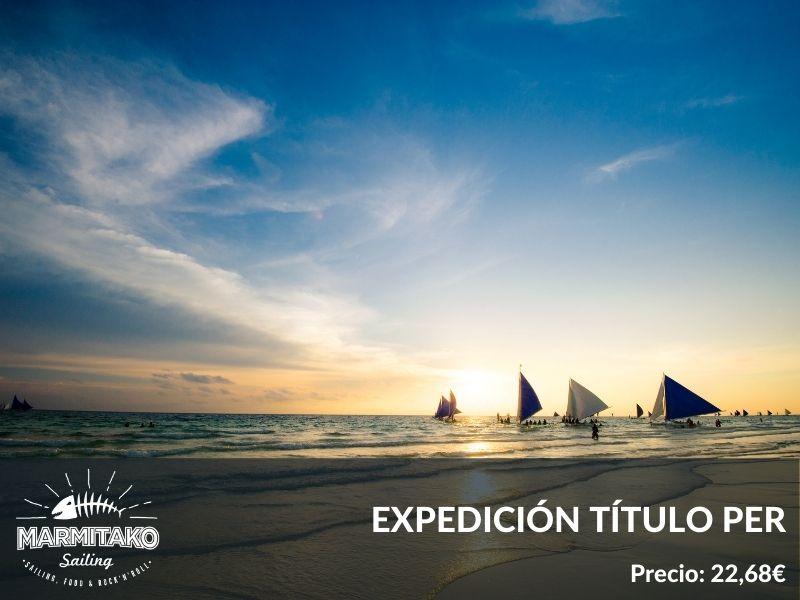 Expedicion titulo PER