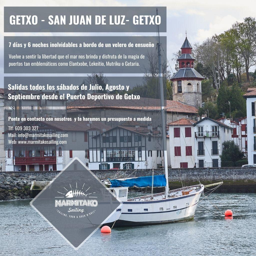 Vacaciones de verano en familia Ruta Getxo San Juan de Luz