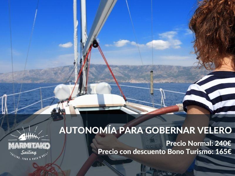 curso de navegacion en Getxo perder el miedo a navegar
